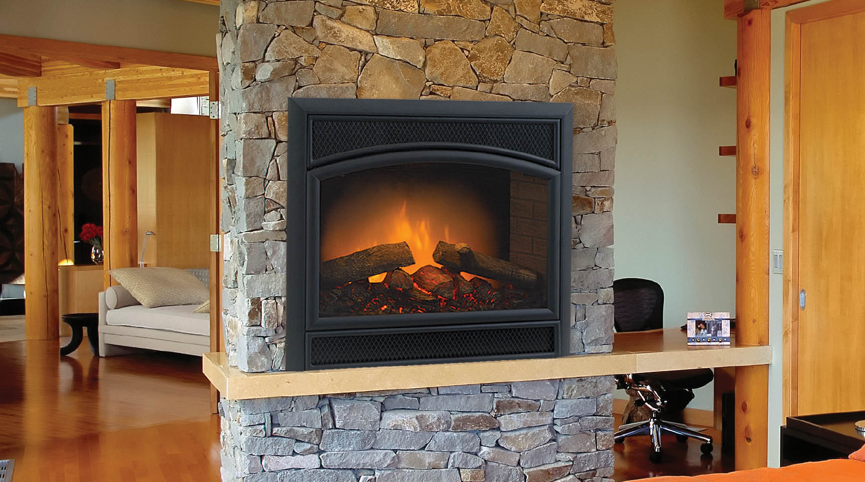Home Amp Hearth Electric Fireplaces